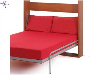 Dettaglio letto a caduta Flat