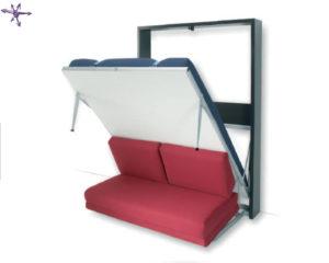 Letto apribile con divano