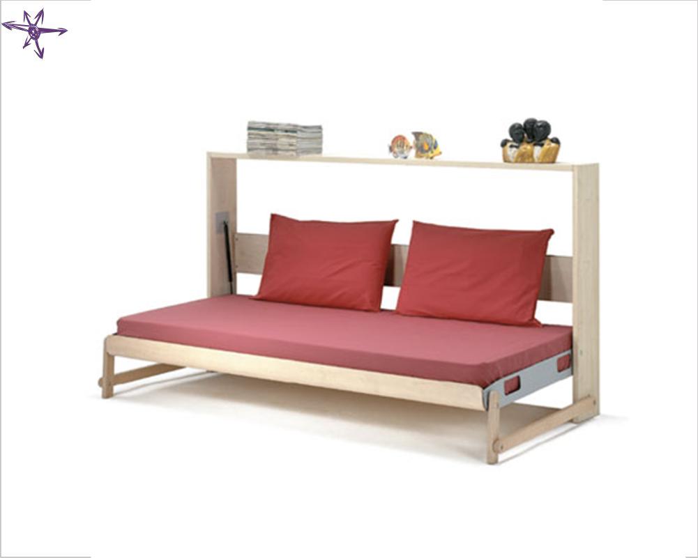 Beautiful letto a parete ideas for Ikea letto ribaltabile