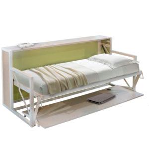 Letti a scomparsa con ribalta orizzontale il vagone letto - Letto singolo lunghezza 210 ...