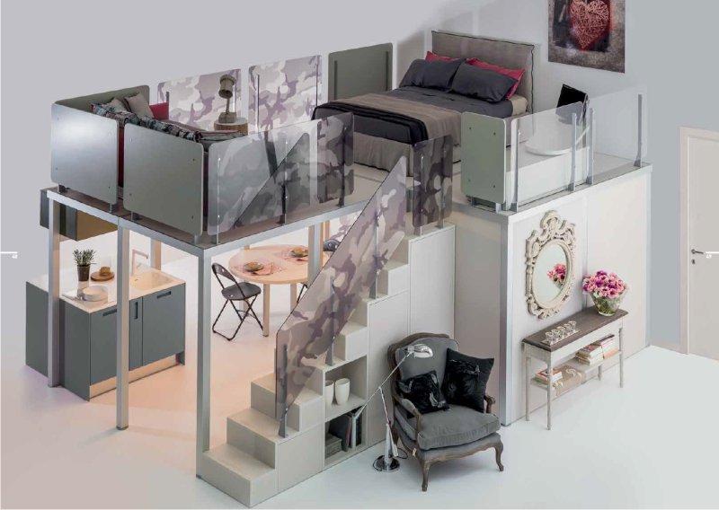 Arredare un monolocale soluzioni trasformabili for Come progettare un layout di una stanza online gratuitamente