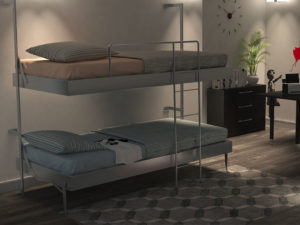 Letto a castello Smartbeds Colombo907