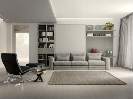 Arredare un monolocale soluzioni trasformabili for Soluzioni per soggiorno